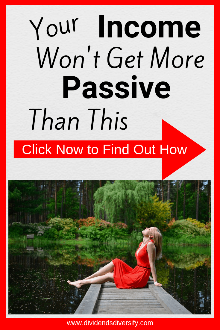 Passive income from dividends is the way to go. Here's one great investment option for the beginning or experienced investor. #personalfinance #investingmoney #stocks #dividends #dividendinvesting #passiveincome