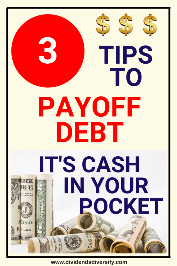 If you want to be debt free then get a debt payoff plan and get your financial freedom back. Here are 3 sure fire debt reductions tips. Reducing debt is core to personal finance and money management. #debt #debtpayoff #debtfree #finanicalfreedom