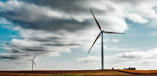 Dominion generates energy from wind and other sources.