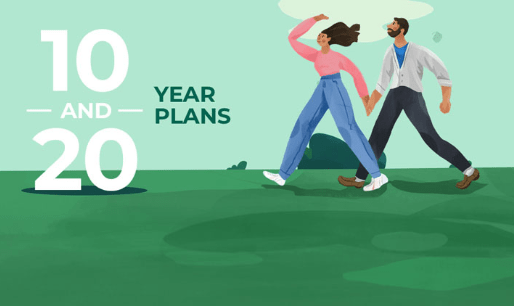 Bestow 10 and 20-year plans and their features
