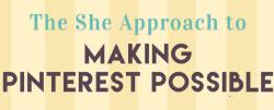 Making Pinterest possible logo