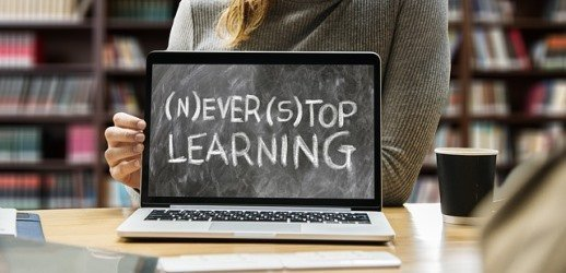 Never stop learning at school or during your life - knowledge is a powerful asset