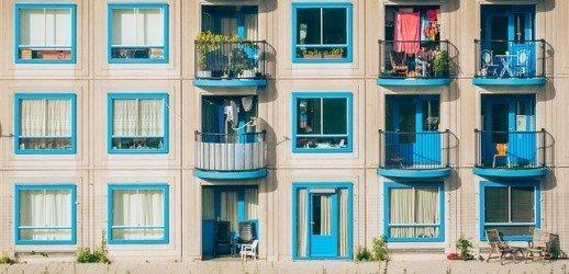 productive asset: apartment building
