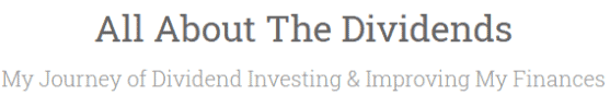 All About the Dividends - Dividend Stock Blog Logo