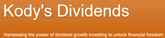 Best 2020 investment idea from Kody at Kody's Dividends