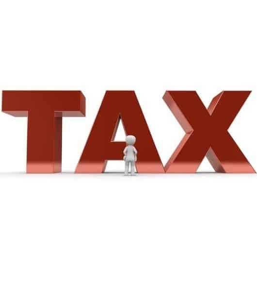 high tax burden