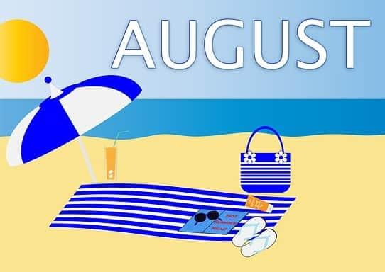 August dividend stocks