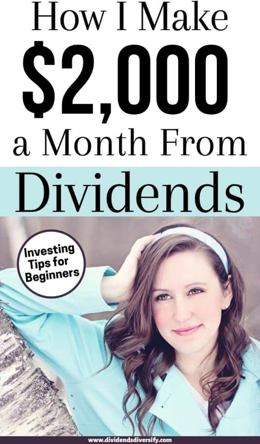 earning monthly dividends