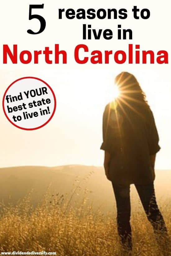 pros and cons of moving to North Carolina