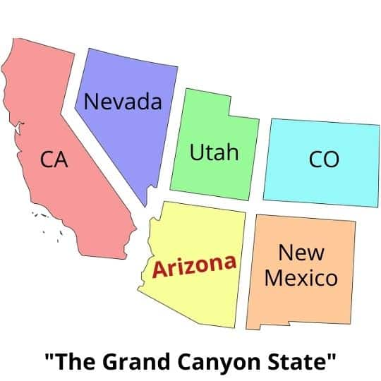"""""""The Grand Canyon State"""""""