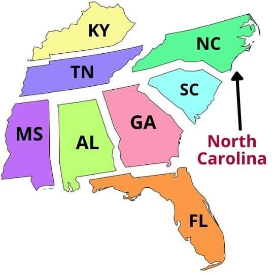 benefits of living in North Carolina