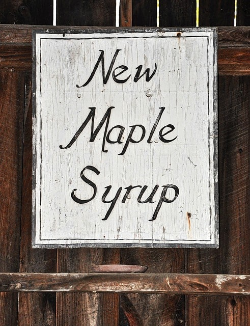 """Maple syrup in """"The Green Mountain State"""""""